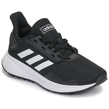 Zapatos Niños Running / trail adidas Originals DURAMO 9 K Negro / Blanco