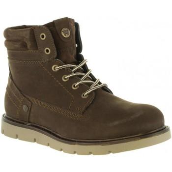 Zapatos Hombre Botas de caña baja Wrangler WM182010 TUCSON Marrón