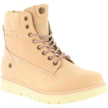 Zapatos Mujer Botas de caña baja Wrangler WL182510 TUCSON Rosa