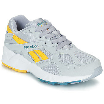 Zapatos Hombre Zapatillas bajas Reebok Classic AZTREK Gris / Amarillo