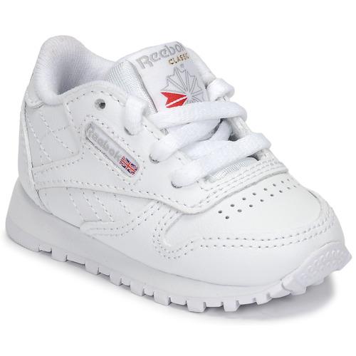 Zapatos Niños Zapatillas bajas Reebok Classic CLASSIC LEATHER Blanco