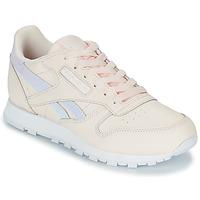 Zapatos Niña Zapatillas bajas Reebok Classic CLASSIC LEATHER Rosa
