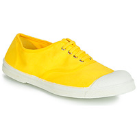 Zapatos Mujer Zapatillas bajas Bensimon TENNIS LACETS Limón
