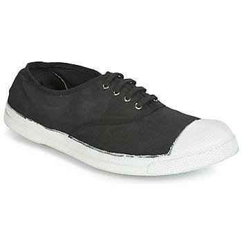 Zapatos Hombre Zapatillas bajas Bensimon TENNIS LACETS Carbón