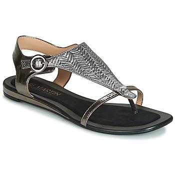 Zapatos Mujer Sandalias JB Martin ARMOR Negro / Plata