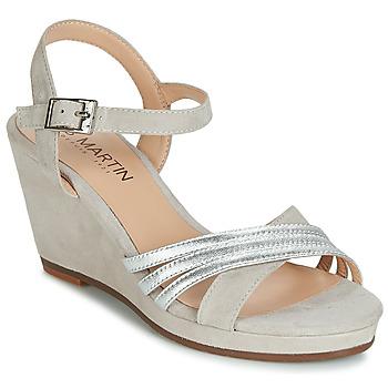 Zapatos Mujer Sandalias JB Martin QUOLIDAYS Gris