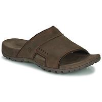 Zapatos Hombre Zuecos (Mules) Merrell SANDSPUR LEE SLIDE Marrón