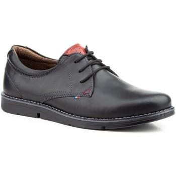 Zapatos Hombre Derbie Pepe Agullo Calzados Zapato de hombre de piel by Pepe Agullo Negro