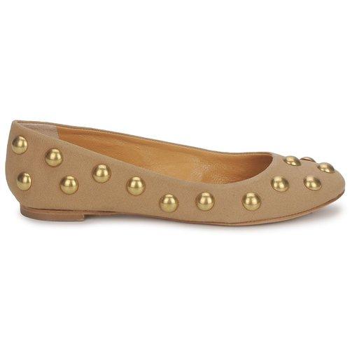 Zapatos promocionales Keyté CANDY TESSU Beige  Cómodo y bien parecido