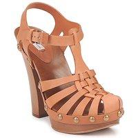 Zapatos Mujer Sandalias Marc Jacobs MJ18051 Beige