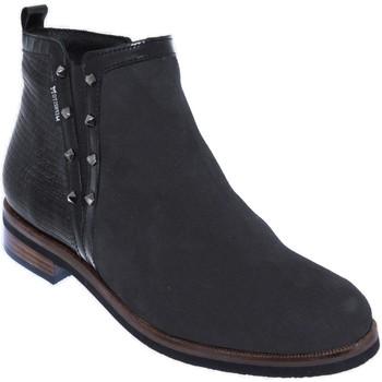 Zapatos Mujer Botines Mephisto Paulita Cuero negro