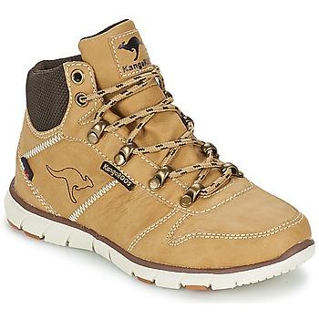 Zapatos Niño Botas de caña baja Kangaroos BLUERUN 2098 Beige