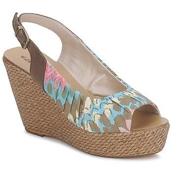 Zapatos Mujer Sandalias Sans Interdit RICO Multicolor