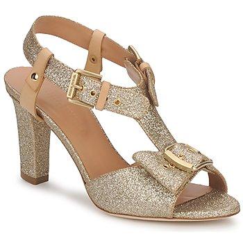 Zapatos Mujer Sandalias Sonia Rykiel DEFIL GAT GLITTER / GOLD
