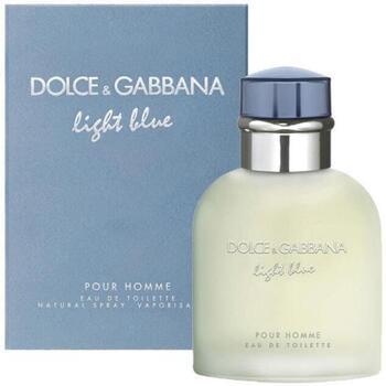 Belleza Hombre Agua de Colonia D&G Light Blue Homme - Eau de Toilette - 200ml - Vaporizador