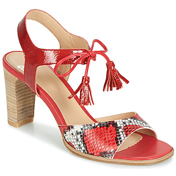 Zapatos Mujer Sandalias Perlato RUBY Rojo