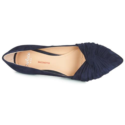Monima Azul Tacón Mujer Perlato De Zapatos kTPXuOZi