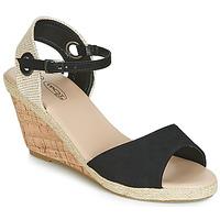 Zapatos Mujer Sandalias Spot on F2265 Negro