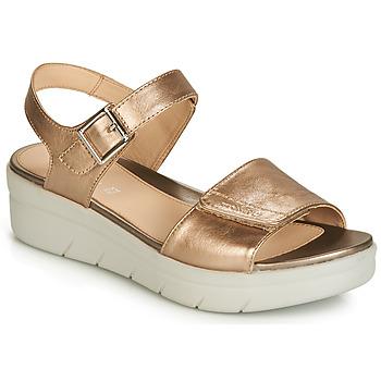 Zapatos Mujer Sandalias Stonefly AQUA III 2 LAMINATED Oro
