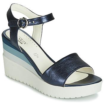 Zapatos Mujer Sandalias Stonefly ELY 7 LAMINATED LTH Azul