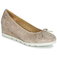 Zapatos Mujer Bailarinas-manoletinas Stonefly MILLY 2 GOAT SUEDE Beige