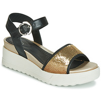 Zapatos Mujer Sandalias Stonefly PARKY 3 NAPPA/PAILETTES Negro
