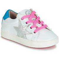 Zapatos Niña Zapatillas bajas Acebo's STARWAY Blanco