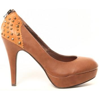 Zapatos Mujer Zapatos de tacón Cassis Côte d'Azur Escarpins Djak Beige Beige