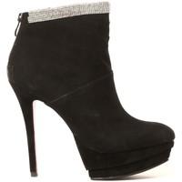 Zapatos Mujer Botines Ilario Ferucci Ilario Ferruci Bottines Fanelly Noir Negro