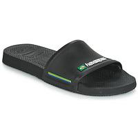 Zapatos Hombre Chanclas Havaianas SLIDE BRASIL Negro