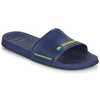 Zapatos Chanclas Havaianas SLIDE BRASIL Azul