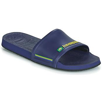 Zapatos Hombre Chanclas Havaianas SLIDE BRASIL Azul