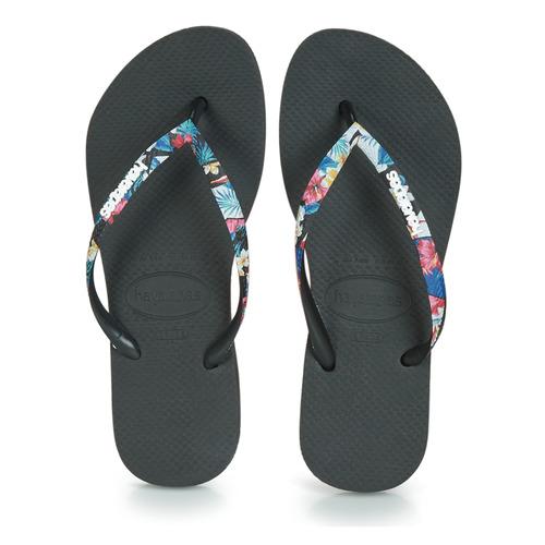 Zapatos Strapped Havaianas Negro Chanclas Mujer Slim j5ARL4
