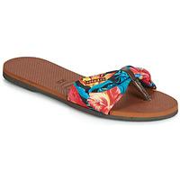 Zapatos Mujer Chanclas Havaianas YOU ST TROPEZ Florido