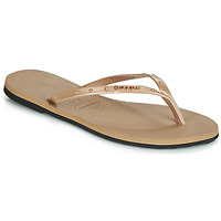Zapatos Mujer Chanclas Havaianas YOU MAXI Rosa / Gold