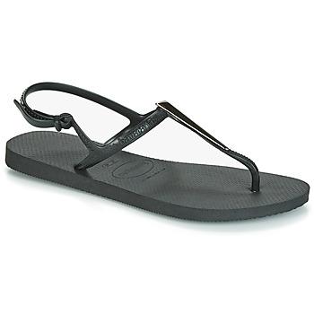Zapatos Mujer Sandalias Havaianas FREEDOM MAXI Negro