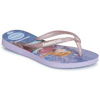 Zapatos Niña Chanclas Havaianas KIDS SLIM FROZEN Violeta
