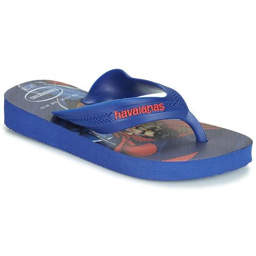 Havaianas KIDS MAX HEROIS Azul - Envío gratis | ! - Zapatos Chanclas Nino