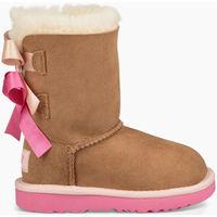 Zapatos Niños Botas de nieve UGG Botas BAILEY BOW KIDS Marrón