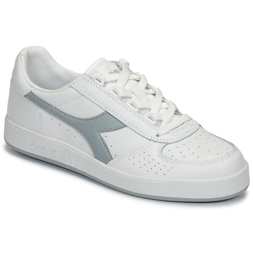 B Elite BlancoGris Zapatos Bajas Diadora Zapatillas LMVqGSzUp