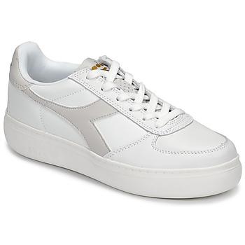 Zapatos Mujer Zapatillas bajas Diadora B ELITE WIDE Blanco / Topotea