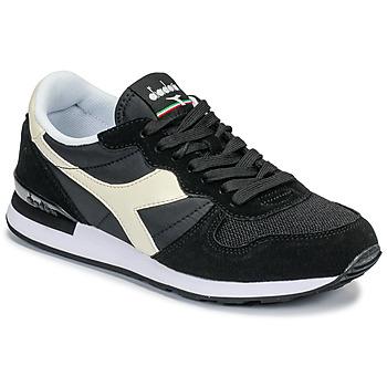Zapatos Zapatillas bajas Diadora CAMARO Negro / Blanco