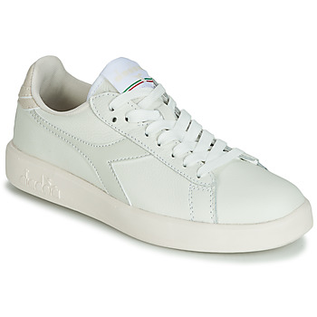 Zapatos Mujer Zapatillas bajas Diadora GAME WIDE Crudo / Gris