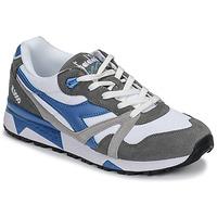 Zapatos Hombre Zapatillas bajas Diadora N 9000 III Blanco / Gris / Turquesa