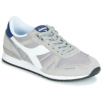Zapatos Hombre Zapatillas bajas Diadora TITAN II Gris / Azul