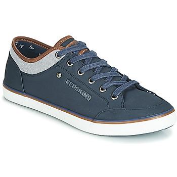 Zapatos Hombre Zapatillas bajas Redskins GALETI Marino / Cognac
