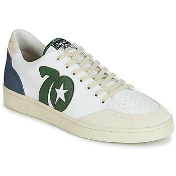 Zapatos Hombre Zapatillas bajas Kost SEVENTIES 14 Crudo / Verde / Azul