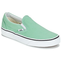 Zapatos Mujer Slip on Vans CLASSIC SLIP-ON Verde