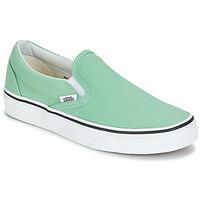 Zapatos Mujer Slip on Vans CLASSIC SLIP-ON Verde