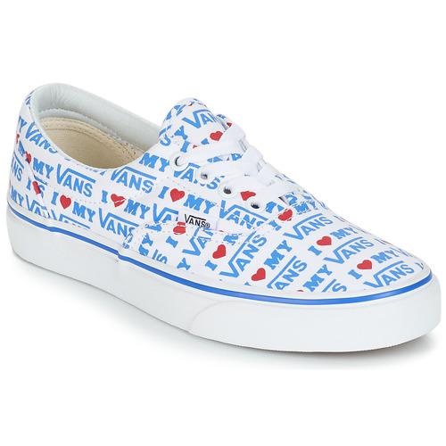 Zapatos Mujer Zapatillas bajas Vans ERA Blanco / Azul